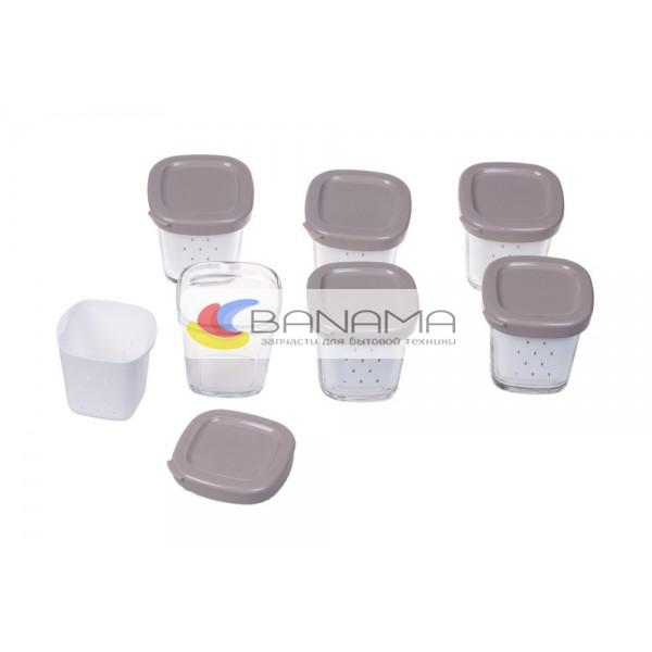 Комплект баночек для йогуртницы YG6528
