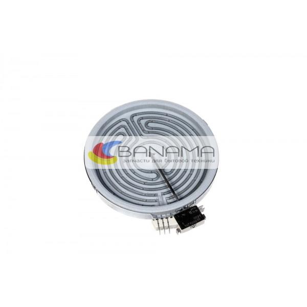 Электроконфорка для стеклокерамической поверхности D=220 mm 1800/750 W