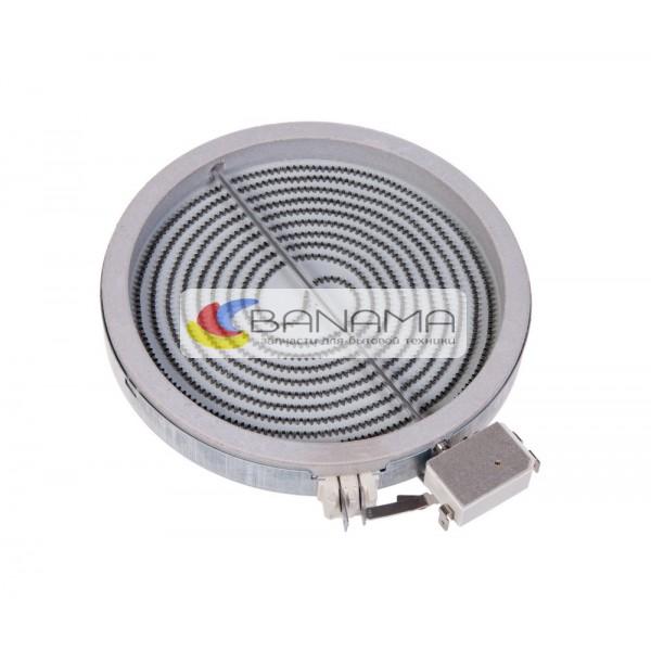 Электроконфорка для стеклокерамики D=200 mm спираль D=180 mm 1800 W простая